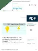 Curso de Formación de Alto Voltaje Para Los Maquinistas Navales _ Marinersgalaxy