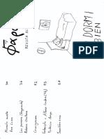 """Revista Farol Alternativa, """"Yo dormí bien"""", Marzo 2016 (Edición manuscrita)"""