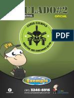 2º Simulado - Caderno de Questões (CFO)