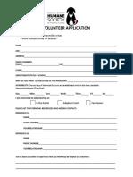 winnie berry humane society volunteer form 11-9-16