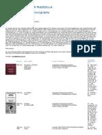 Discografia Astor Piazzolla