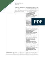 Programas de Estudio 2011 - 2016