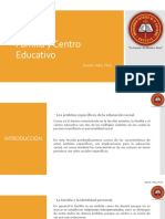 TEMA 02 Familia y Centro Educativo