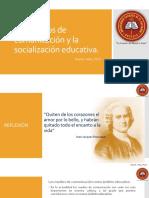 TEMA 03 Los Medios de Comunicación y La Socialización Educativa