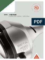 HEINE Catalogo Geral Medicina 2016