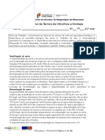 Fertilidade Características Técnicas Da Cultura Da Vinha Em Agricultura Biológica