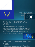 ireland and the european union powerpoint