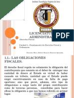 Derecho Fiscal Unidad 1 Fundamento de Derecho Fiscal y Tributario