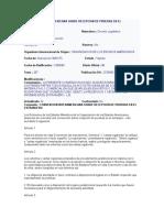 Convencion Interamericana Sobre Recepcion de Pruebas en El Extranjero