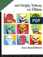 Jean Baudrillard - Simgesel Değiş Tokuş ve Ölüm