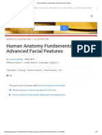 Human Anatomy Fundamentals_ Advanced Facial Features