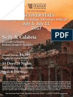 Discover Italy WICC July 2017