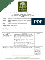 DOA Board October 5, 2016 Minutes