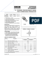 P3NA80FI datasheet