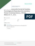La  Nueva generación  social de familias