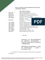Íntegra da decisão de Marco Aurélio Mello que afasta Renan Calheiros