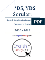 KPDS YDS Englishinturkey.com
