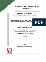 Perforacion de Un Pozo HPHT Pache 13 Uno de Los Pozos Mas Profundos de La Region Sur de Mexico