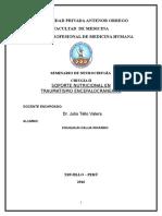 Monografia Trauma Craneal y Nutricion