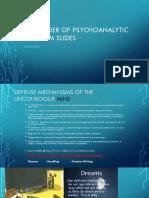 remainder of psychoanalytic criticism slides
