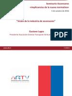 Vision de La Industria de Ascensores Gustavo Lagos AGTV