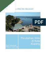Perubahan Iklim Di Kota Kupang