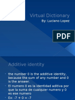virtual dictionary