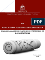 Armas de Fuego Interpol