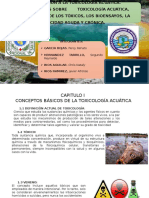 Toxicología acuática