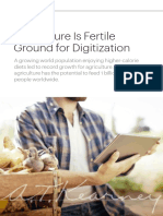 Agriculture is Fertile Ground for Digitization