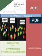 Química 1 - Etapa 2 - 2016 (Estrategias) (b)