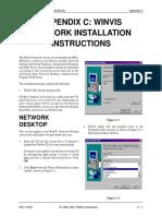 Appendix C -WinVis Network Installation