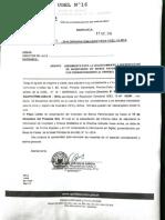 Comunicado de Aplicacion de Directiva 2016