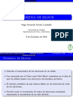 Teorema de Bloch