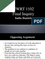 final inquiry