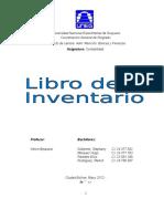 Características Del Libro de Inventario