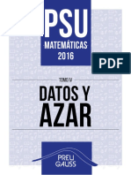 Psu Mate 2016 Datos y azar