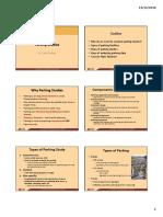 Lecture (Parking Studies)