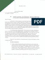 Anaplex Corp letter to LA County Health