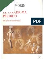 [Morin, Edgar],[El Paradigma Perdido],[Ensayo],[PDF]