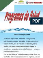 Programas de Salud 2016