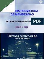 1.4. Ruptura Prematura de Membranas y Prema1turez2