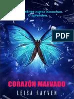 Starcrossed 3. Corazon Malvado. Leisa Rayven