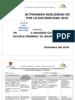 Formato Informe de La Jornada 2016