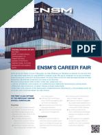 ENSM Career Fair