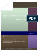 2015 bartow workforce needs assessment final report aug 25 2015