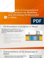 Application of Computational Fluid Dynamic in Oil And
