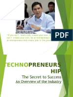 Technopreneurship an Overview