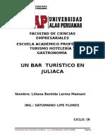 Proyectos Bar