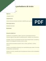 Planeacion Portadores de Texto Informacion.